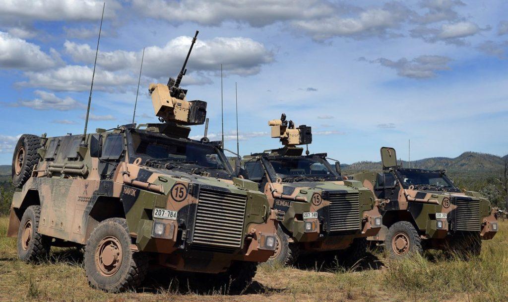 Бронемашини «Bushmaster». Фото з відкритих джерел