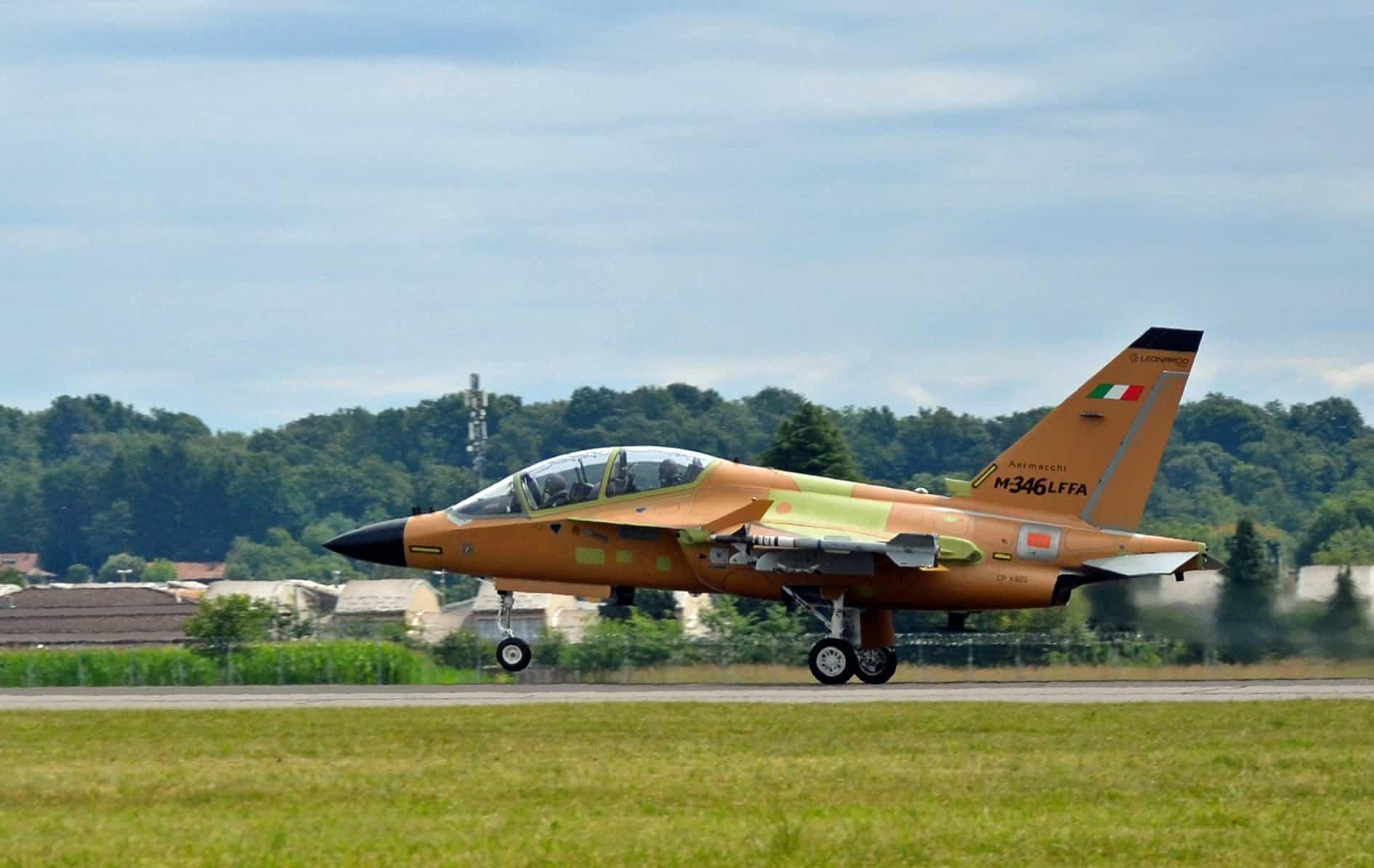 Літак M-346 «Fighter Attack». Липень 2020. Фото: Leonardo