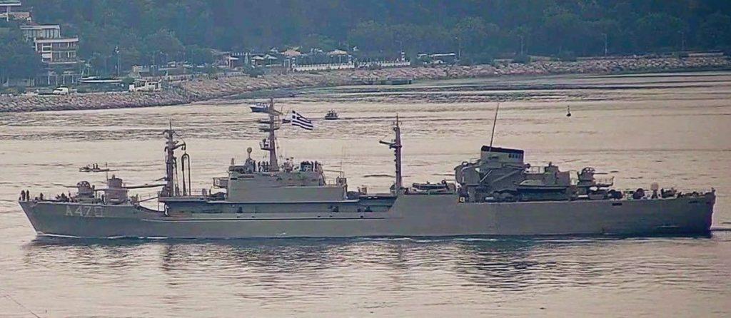 Корабель постачання HS Aliakmon (A-470) ВМС Греції