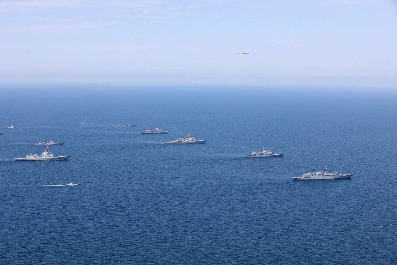 Кораблі-учасники міжнародних навчань Sea Breeze 2020