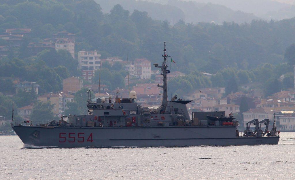 Мінний тральщик ITS Gaeta (5554) ВМС Італії