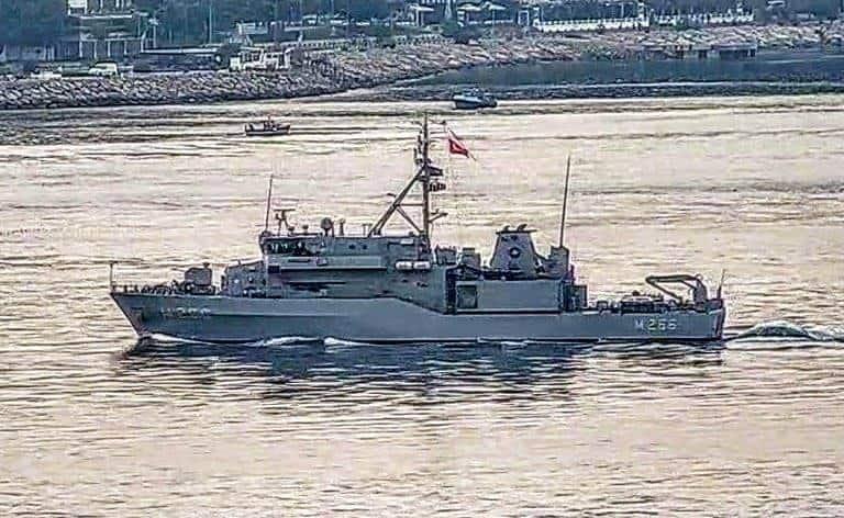 Мінний тральщик TCG Amasra (М 266) ВМС Туреччини