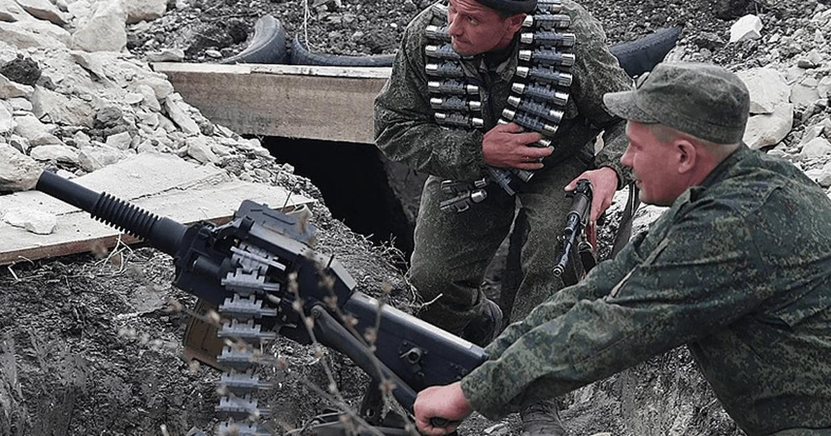 Ілюстрація до новини. Фото: Бойовики з автоматичним станковим гранатометом