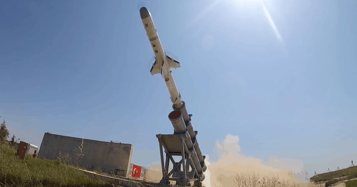 Ракета «ATMACA». Фото: ЗМІ Туреччини