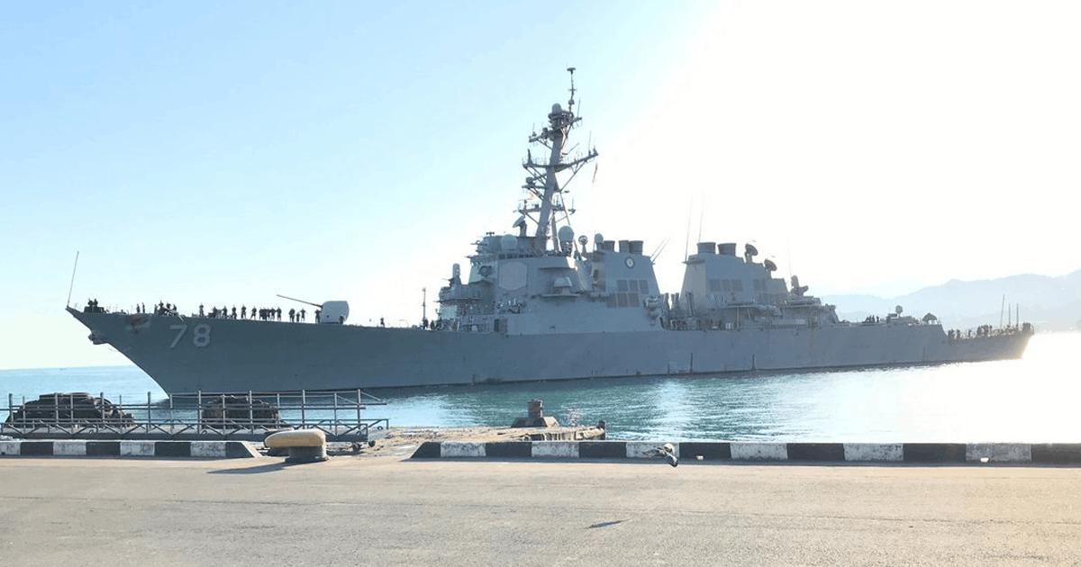 Есмінець ВМФ США «Porter» (DDG-78). Фото: ВМФ США (У Чорному морі есмінці США проводять морську операцію)