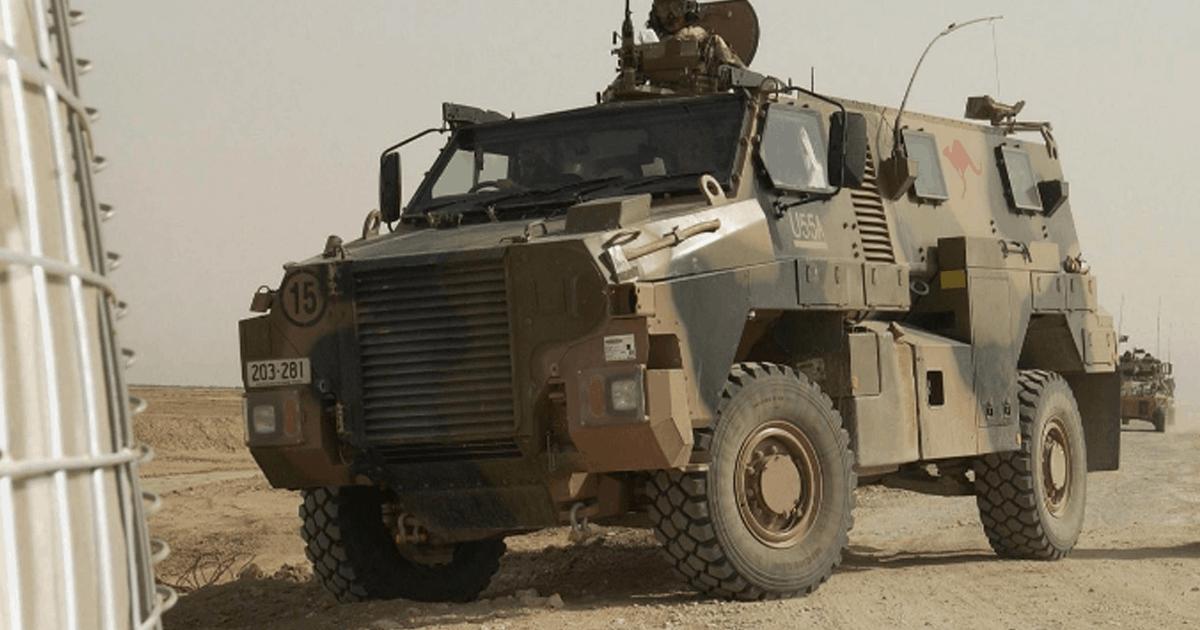 Бронемашина «Bushmaster» Збройних сил Австралії. Фото: ЗМІ Австралії