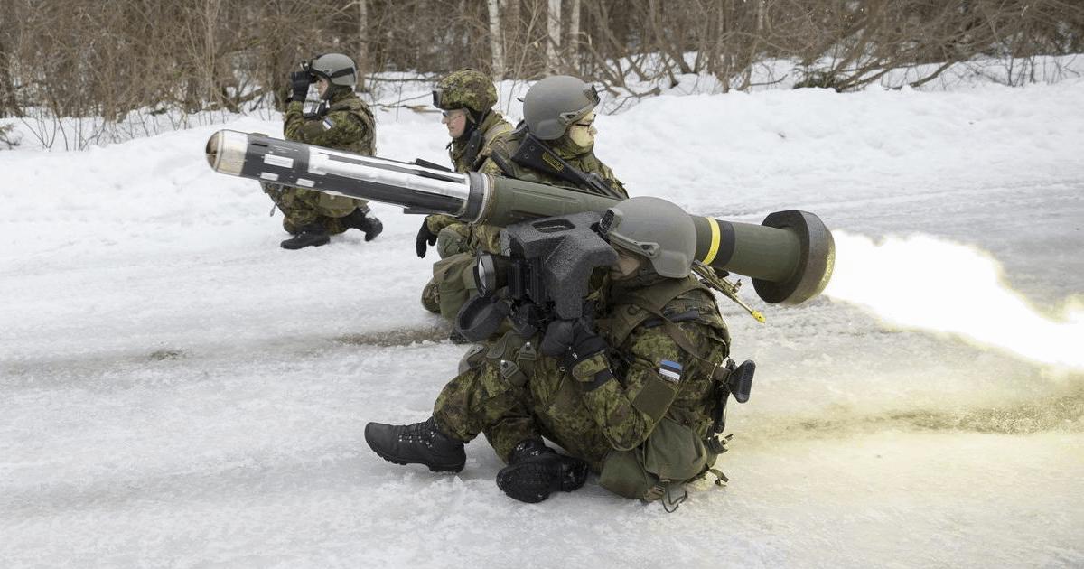 Ілюстрація до новини з тренувань Сил самооборони Естонії з Javelin за 2016 рік.