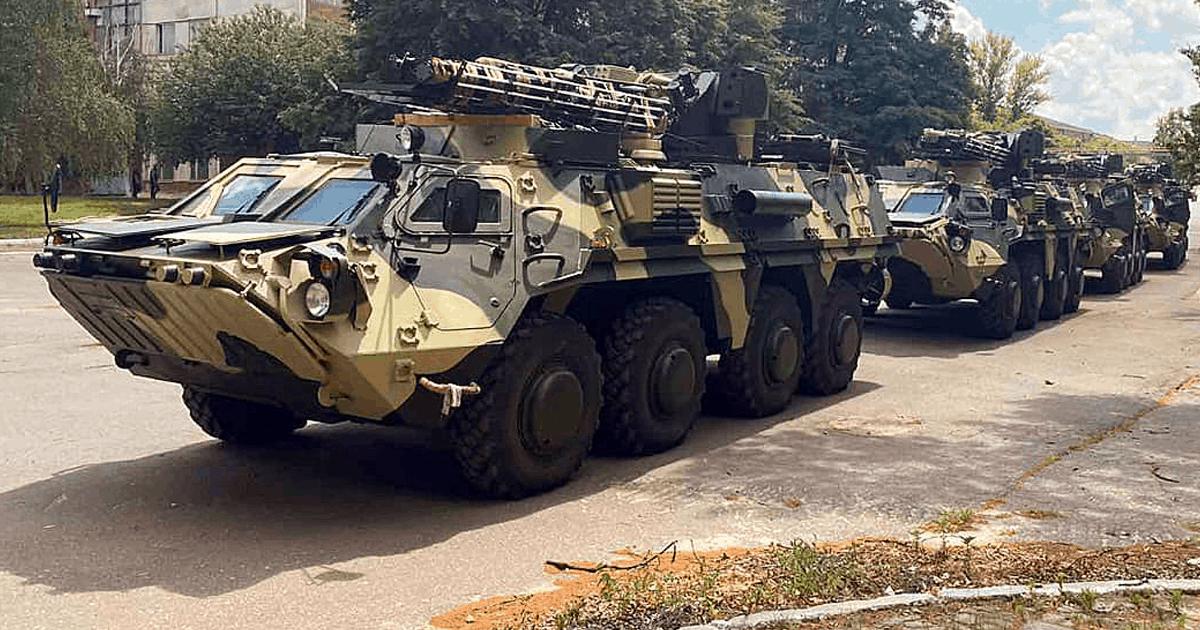 ЗСУ отримали партію БТР-4Е | Український мілітарний портал