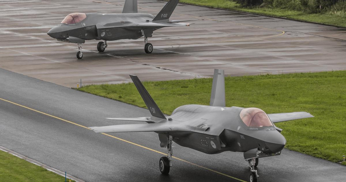 F-35A з номерами F-011 та F-012. Фото: ЗМІ Нідерландів