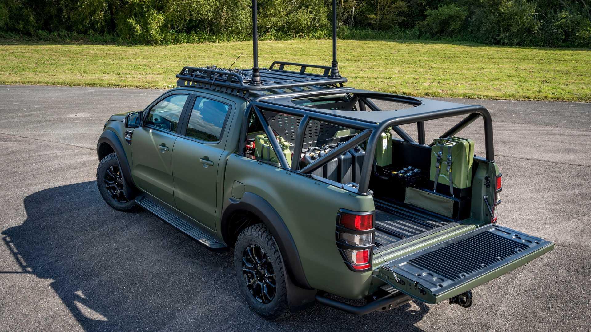 Позашляховик Ford Ranger у військовому виконанні