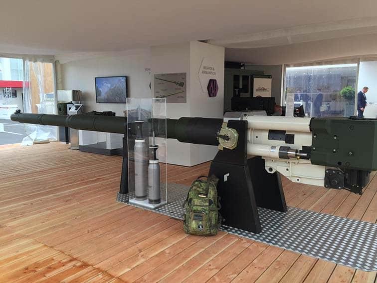 Представлена у 2016-у році 130-мм гармата від компанії Rheinmetall