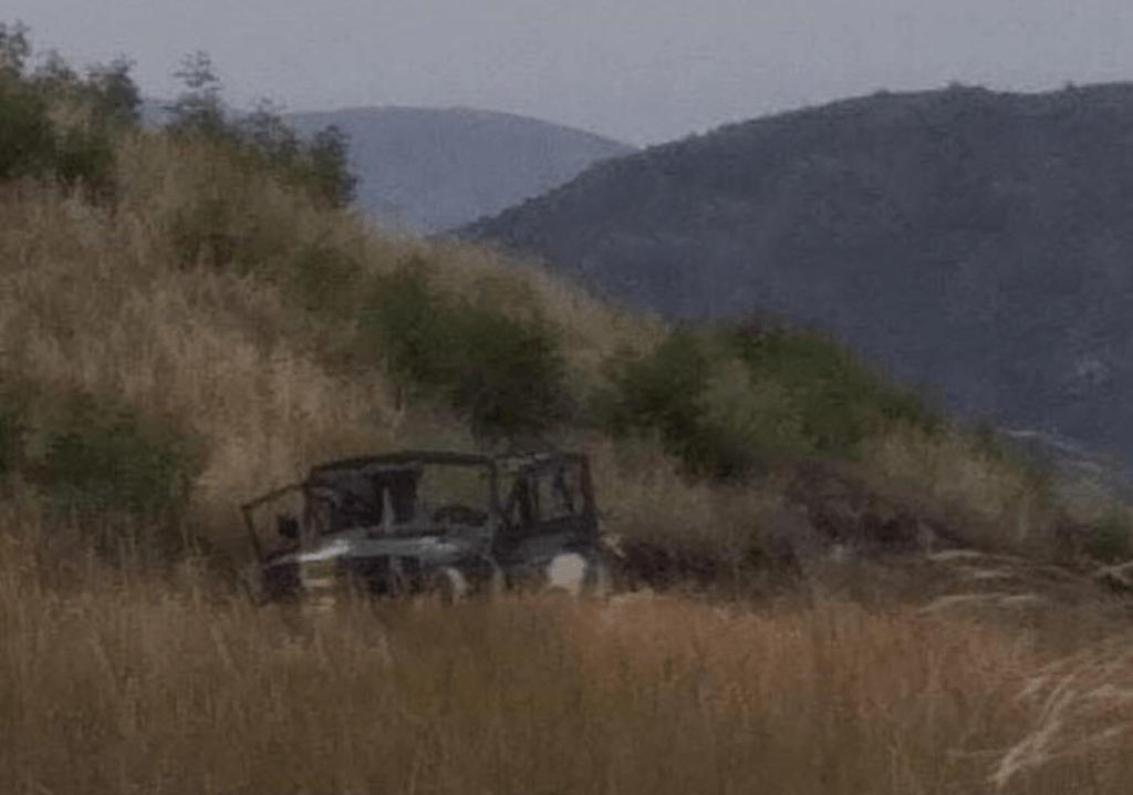 За даними ЗМІ Вірменії на фото підбитий автомобіль Збройних сил Азербайджану