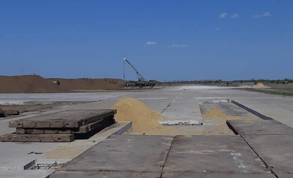 Роботи з відновлення аеродромної мережі ПС ЗСУ