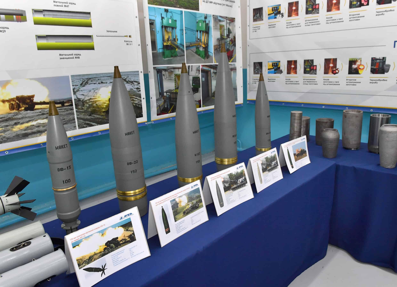 Макети боєприпасів. Фото з відкритих джерел