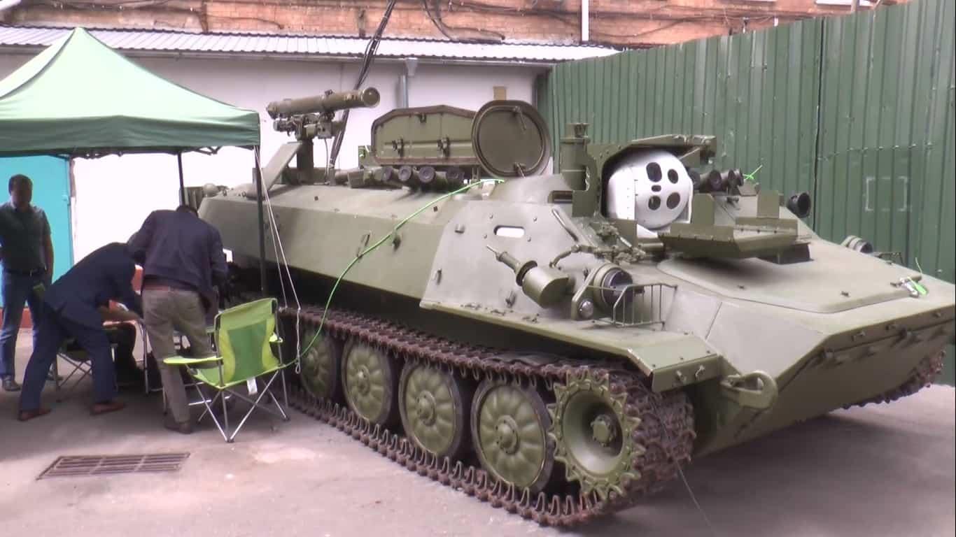 Самохідний ПТРК «Штурм-С»