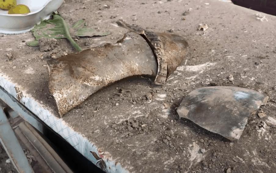 Наслідки обстрілу мирних мешканців. Фото: ЗМІ Вірменії