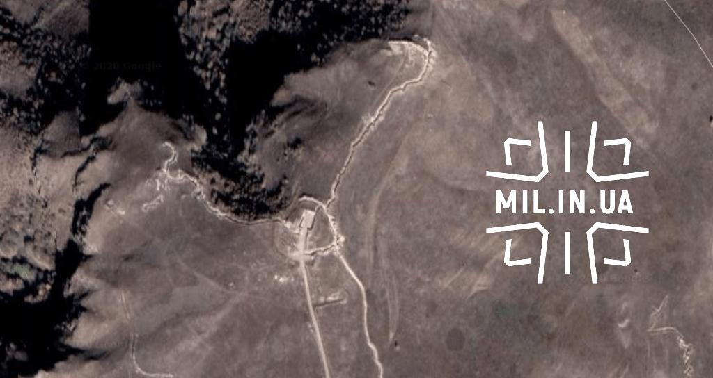 Опорний пункт сил Вірменії над селом Мовсес