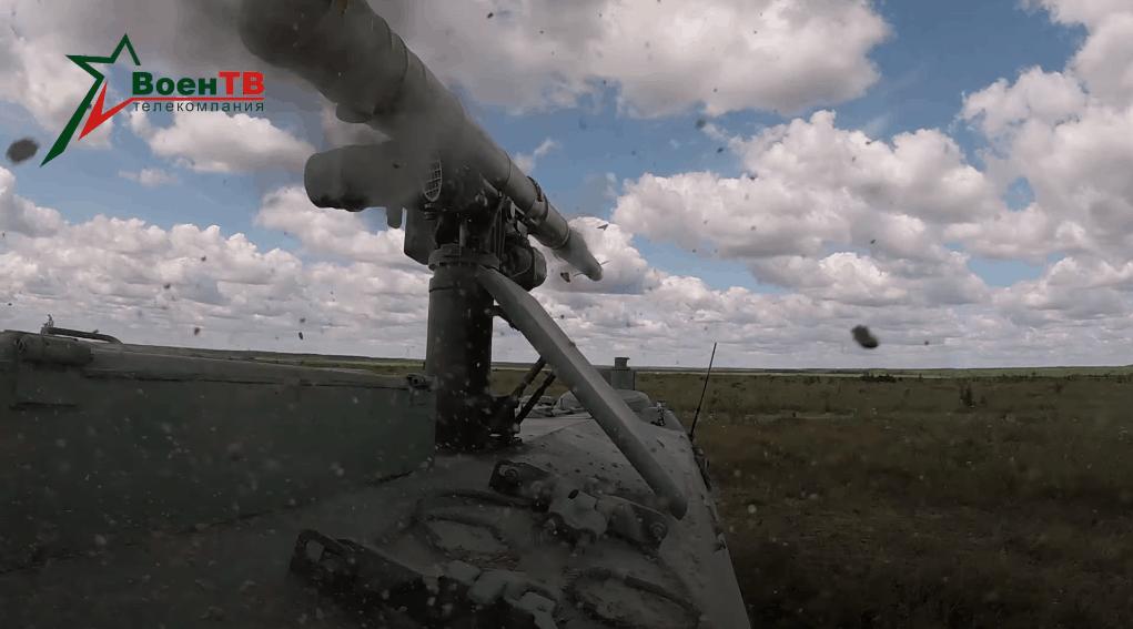 Випробування ракети 9М114МБ. Фото: Міноборони Білорусі