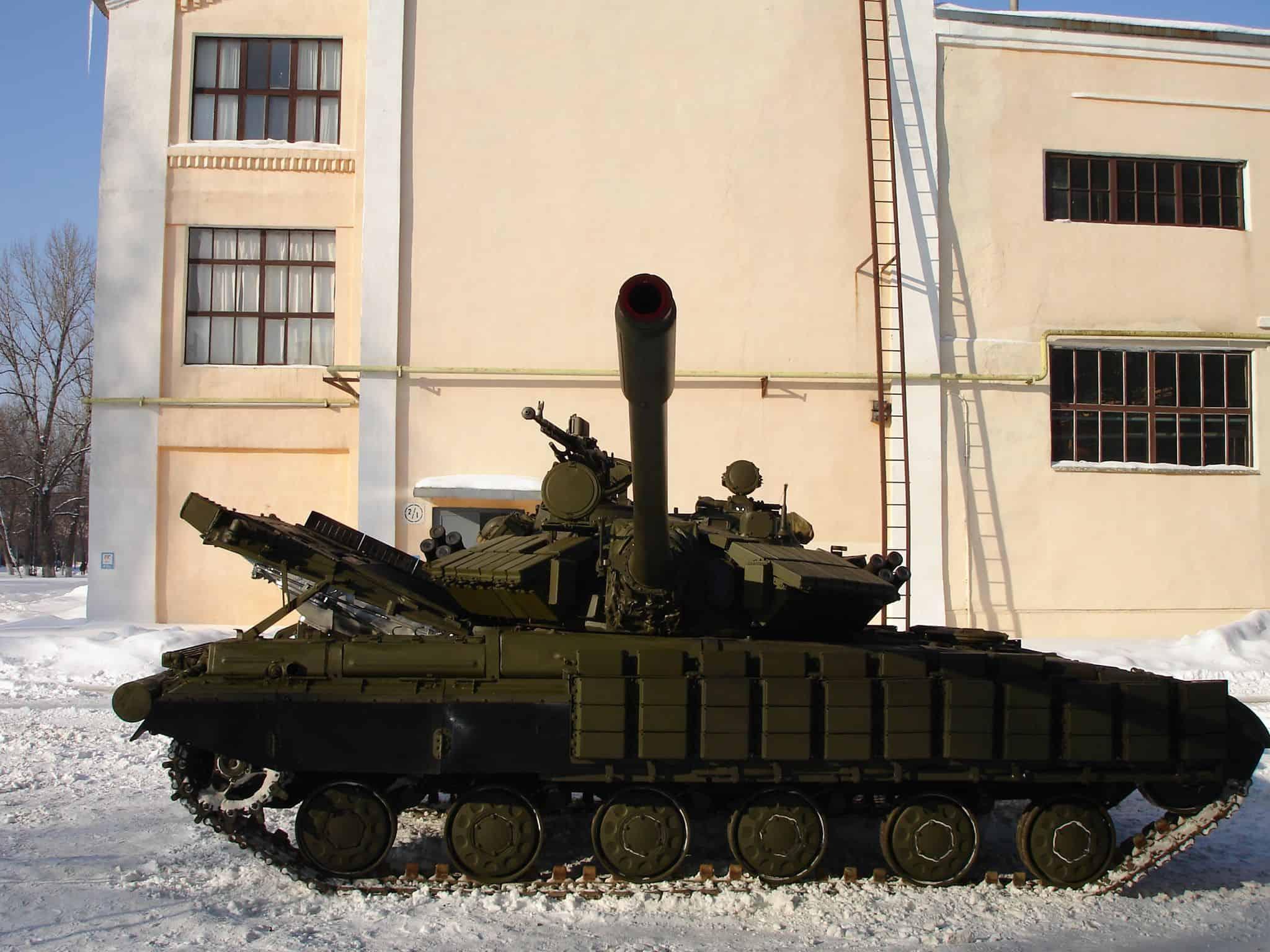 Танк Т-64 з баштою танку Т-55