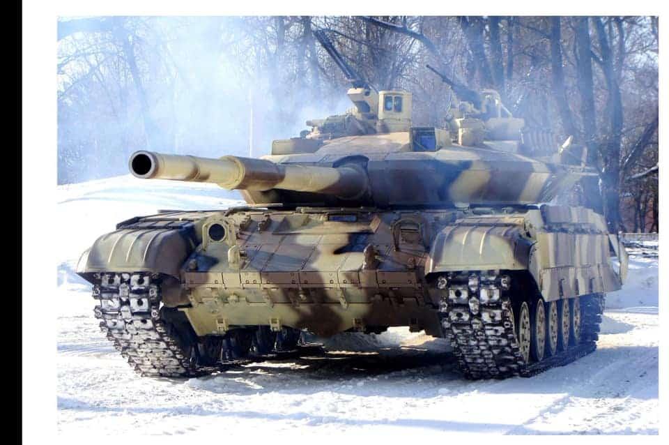 Танк Т-64Е загальний вид