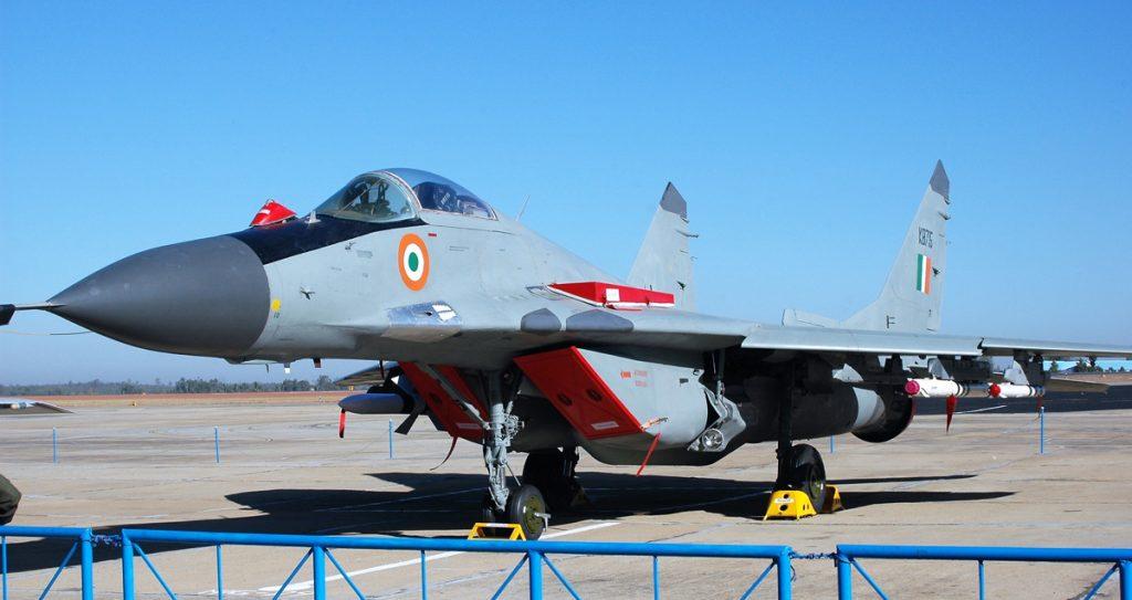 МіГ-29 ВПС Індії. Фото ЗМІ Індії