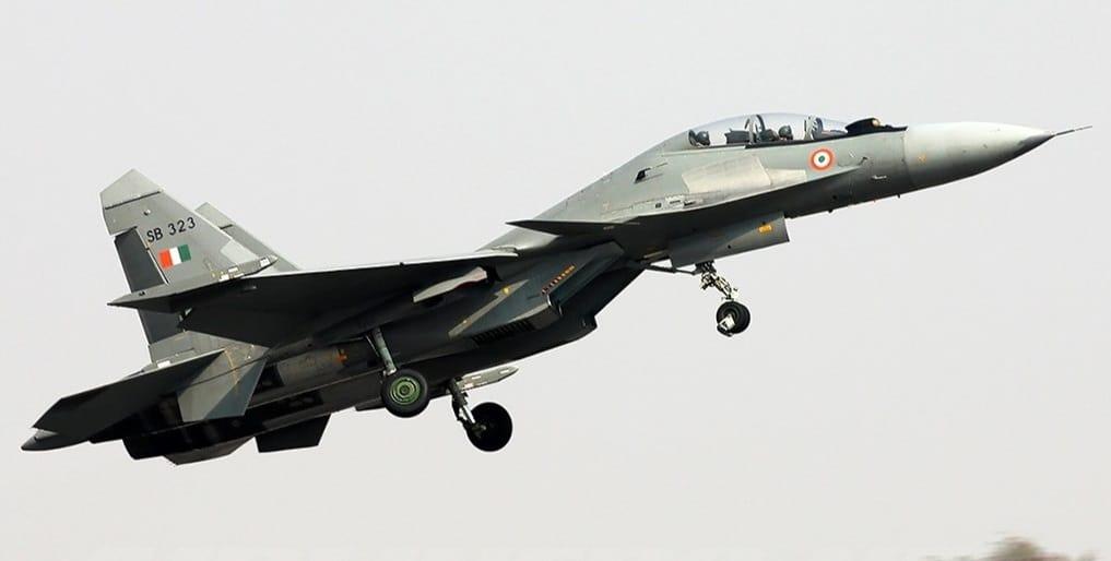 Винищувач Су-30МКІ ВПС Індії. Фото: ЗМІ Індії