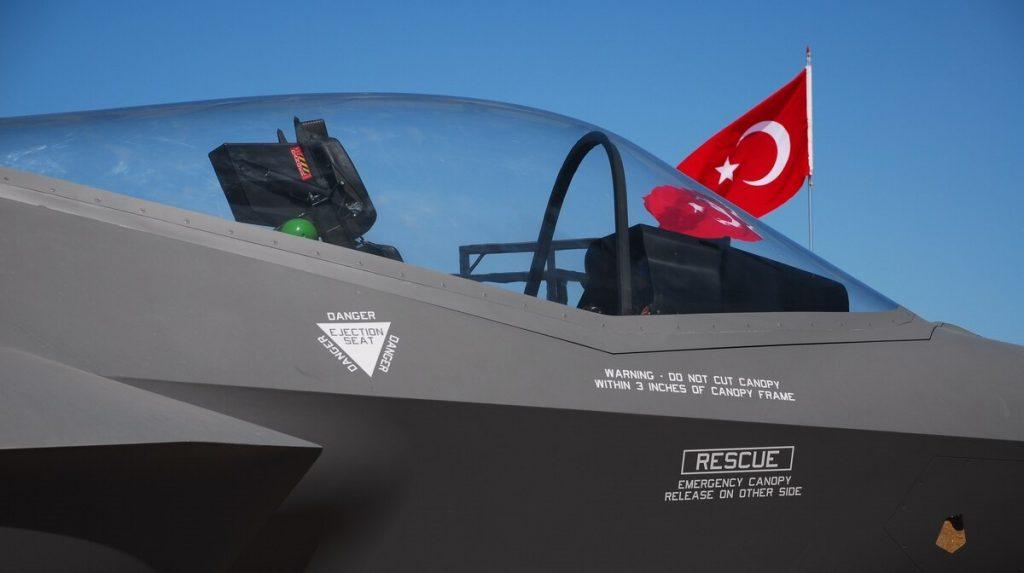 F-35 на базі в Туреччині. Фото: З відкритих джерел