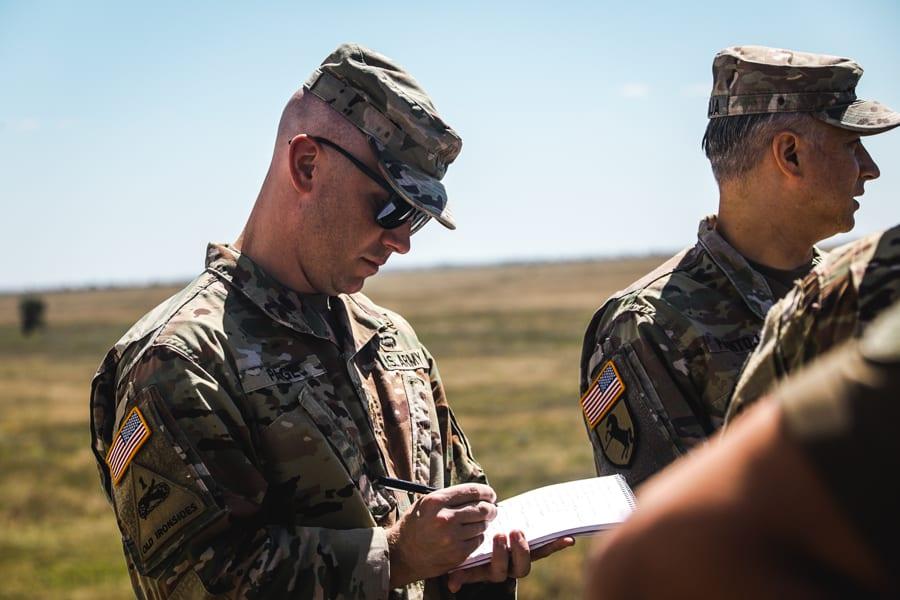 Спільні командно-штабні навчання «Гвардія–2020». Фото: Нацгвардія