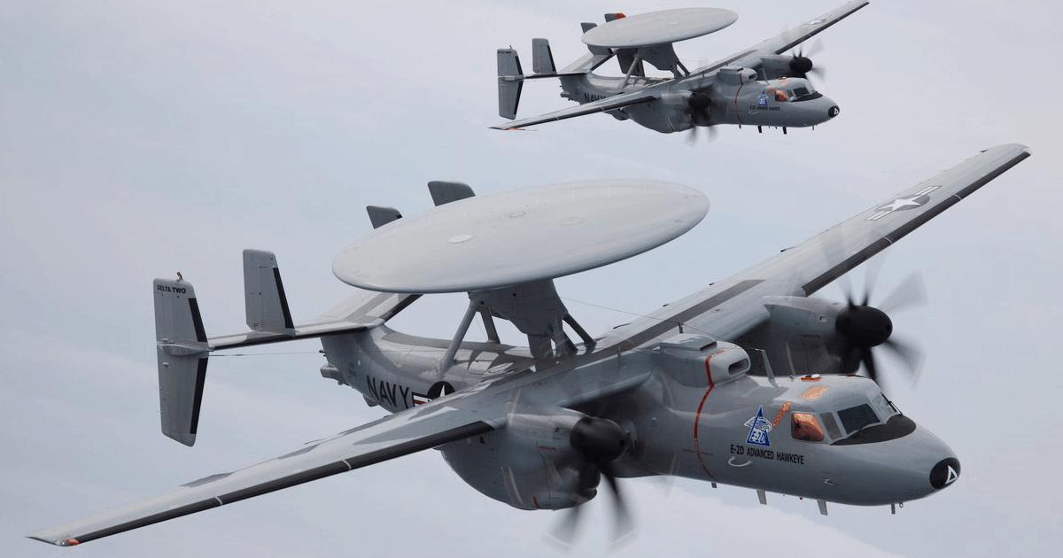 Літаки AWACS E-2D «Advanced Hawkeye». Фото: з відкритих джерел