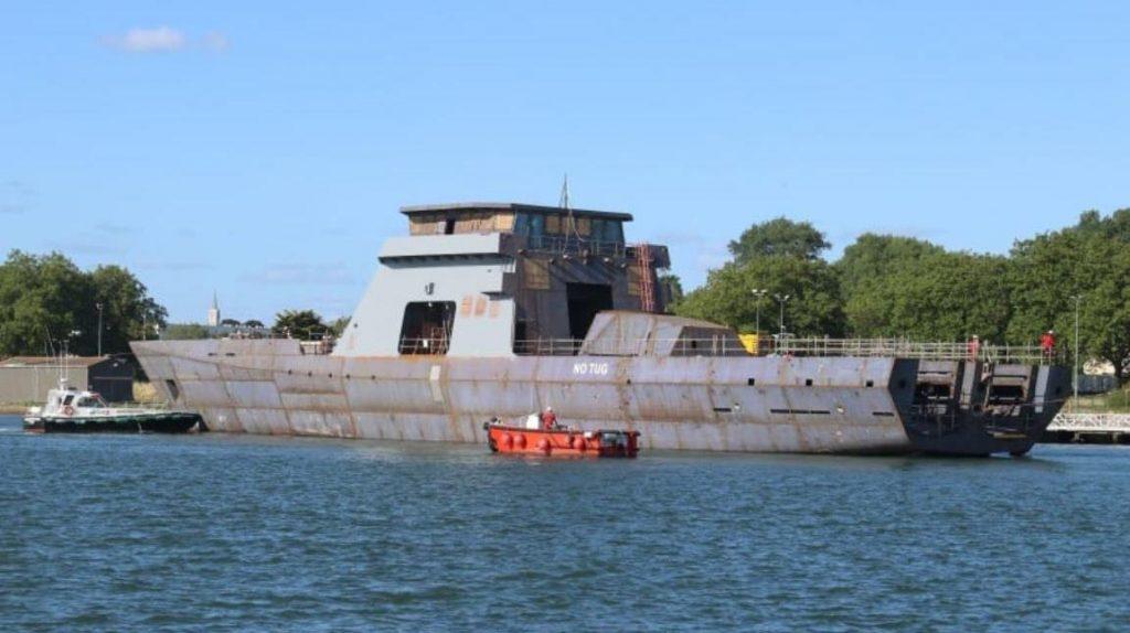 Корабель «Piedrabuena» класу OPV-87 «Gowind». Серпень 2020. Фото з відкритих джерел