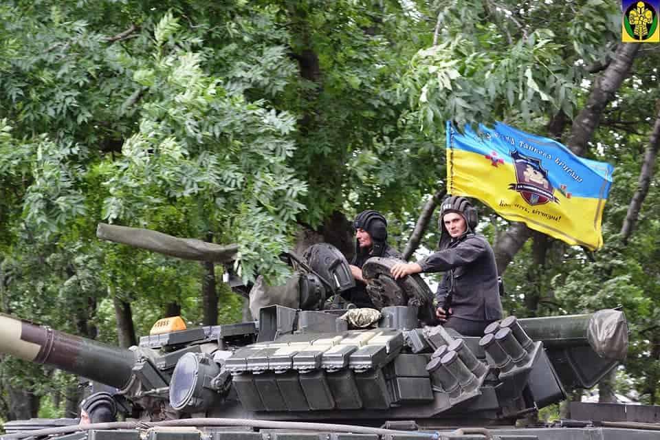 Танкові змагання ЗСУ. Фото: 17 ОТБр
