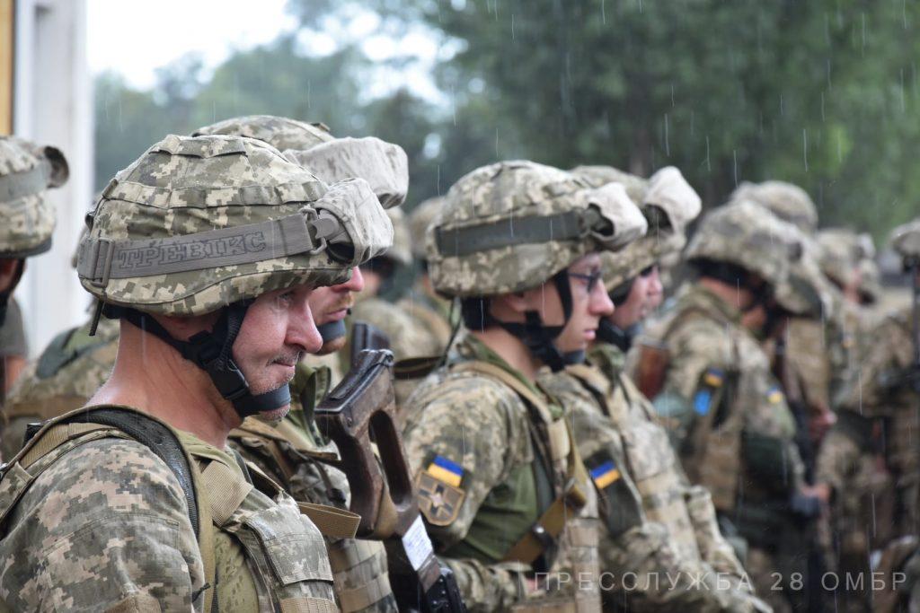 Військові 28-ї бригади. Фото: 28 ОМБр