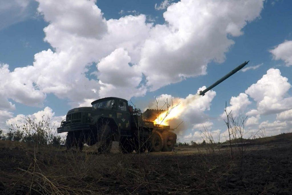 БМ-21 «Град» на змаганнях. Серпень 2020. Фото: Міноборони України