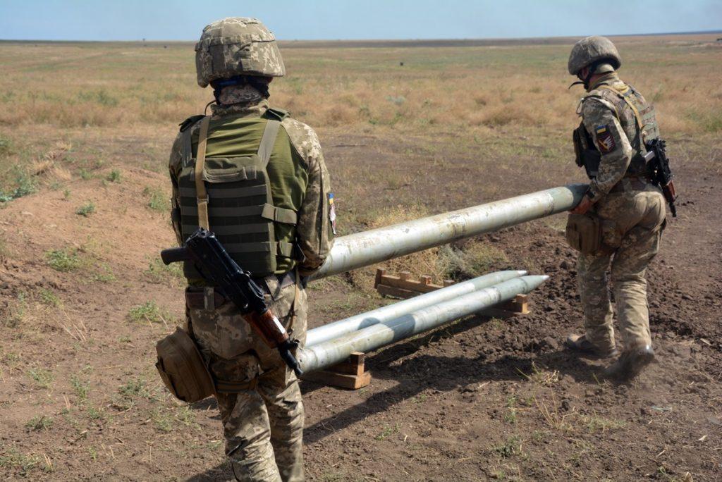 Змагання артилеристів. Серпень 2020. Фото: Міноборони України