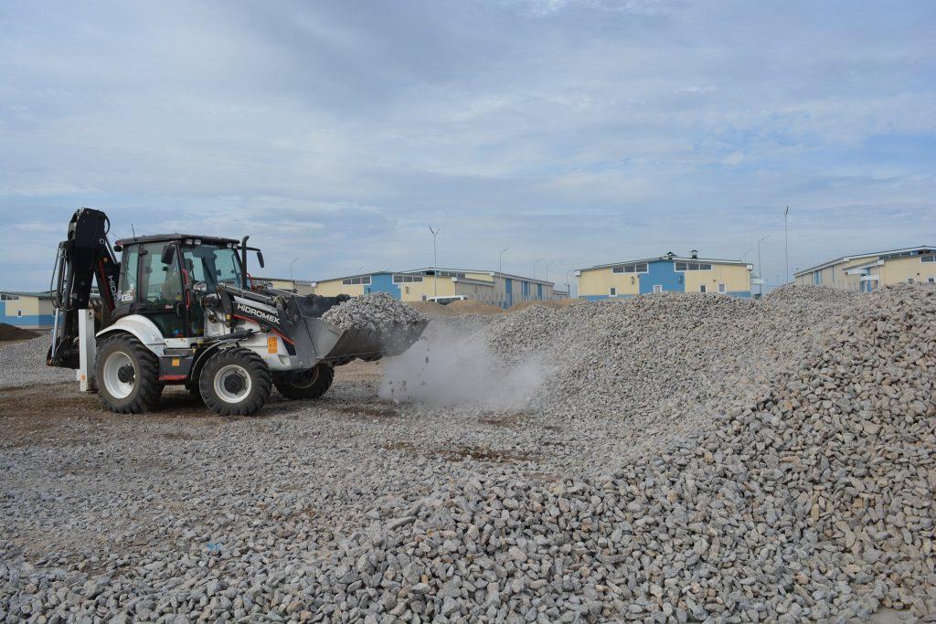 """Будівництво бригадного табору на """"Широкому Лані"""". Серпень 2020. Фото: ДССТ"""