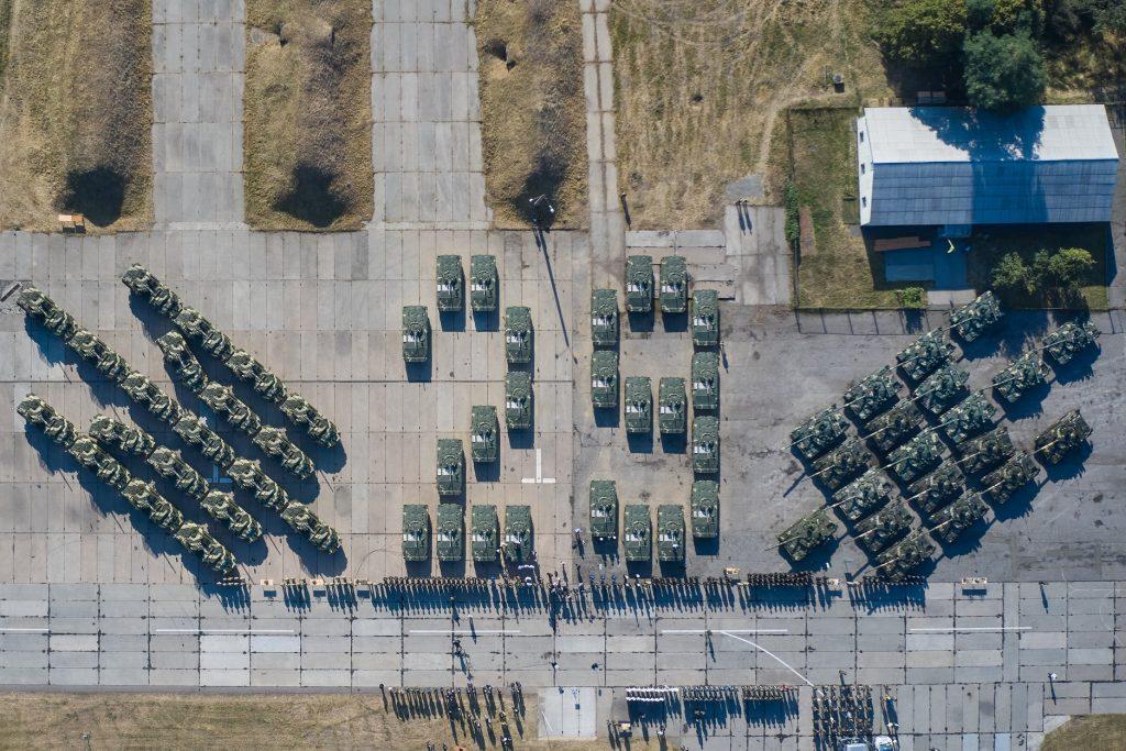 Передача ЗСУ озброєнь. 23.08.2020. Фото: Офіс