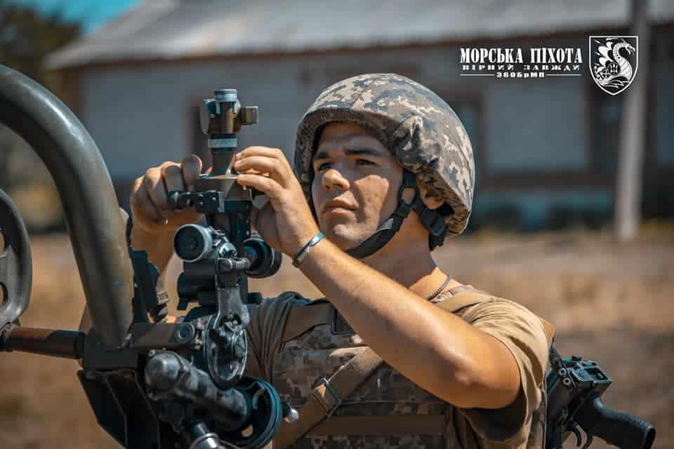 Артилерист ЗСУ. Серпень 2020. Фото: Міноборони України