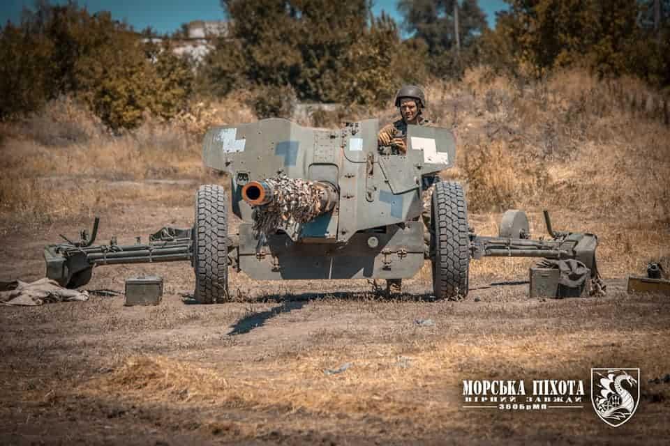 МТ-12 «Рапіра» ЗСУ. Серпень 2020. Фото: Міноборони України