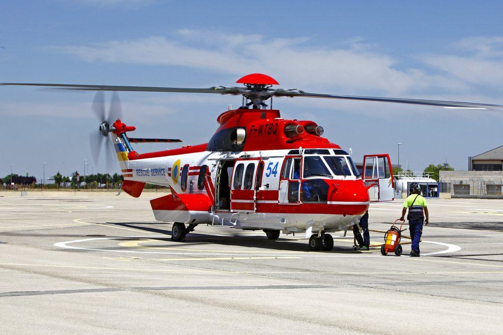 Вертоліт H225 з номером 54. Фото: flickr.com