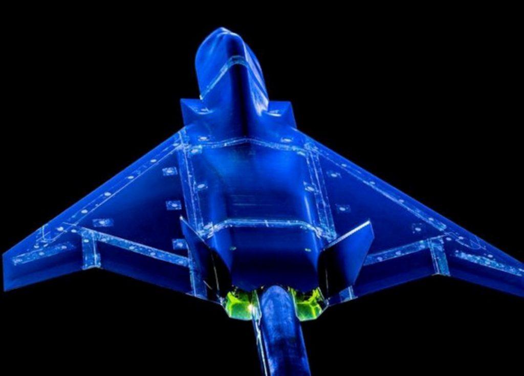 Аеродинамічні випробування моделі «Tempest». Фото: BAE Systems