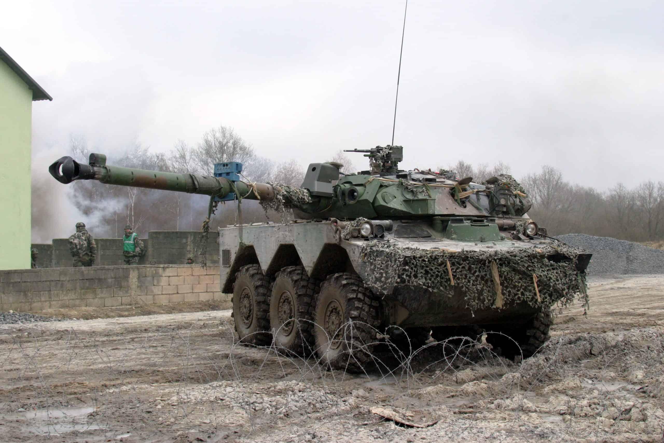 Важка французька БРМ АМХ-10RC