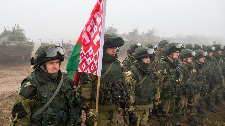 Білоруські військовослужбовці