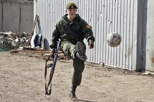 Бойовик російсько-терористичних військ
