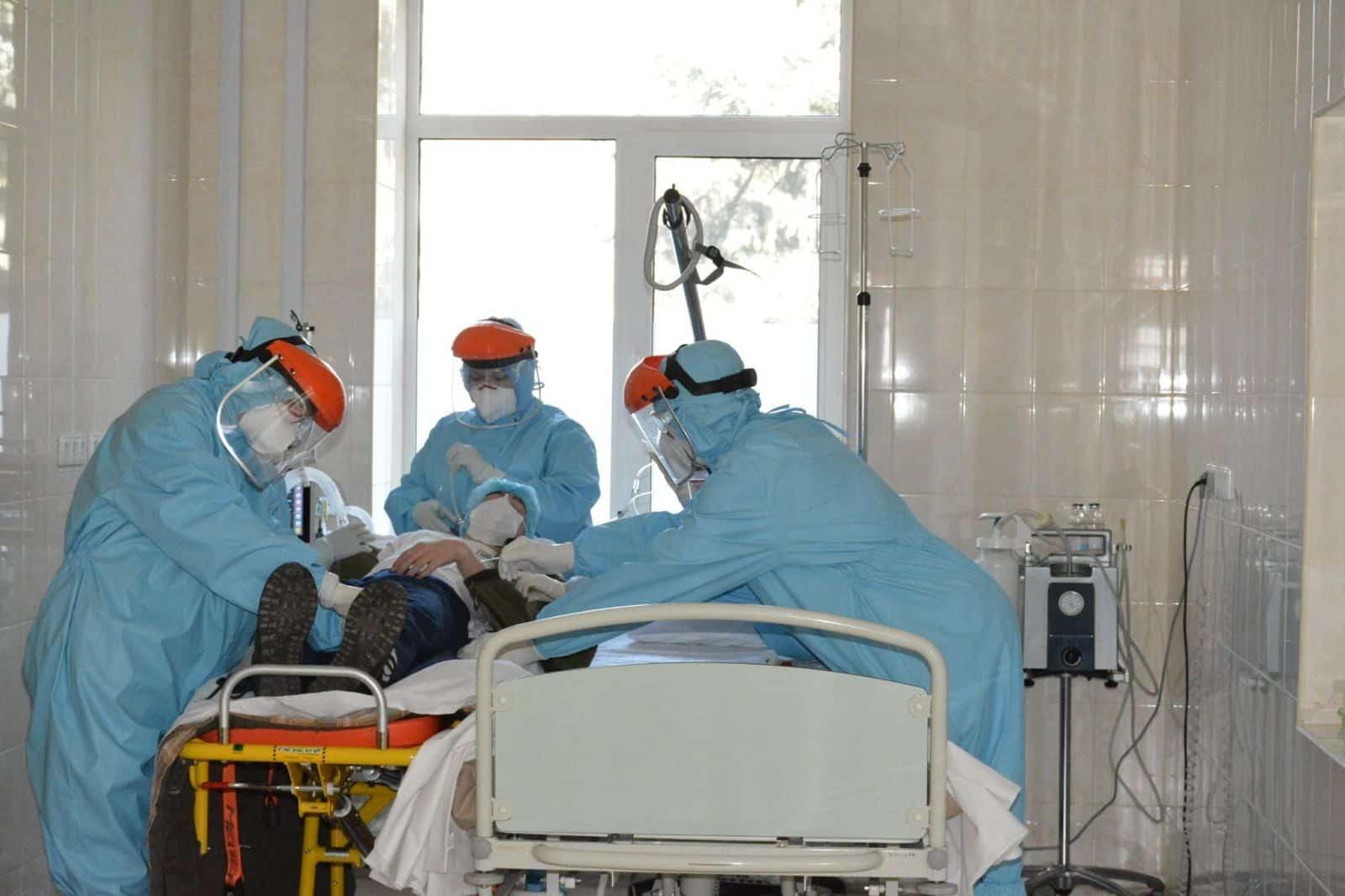 Дії медичного персоналу ЗСУ під час підозри на захворювання COVID-19