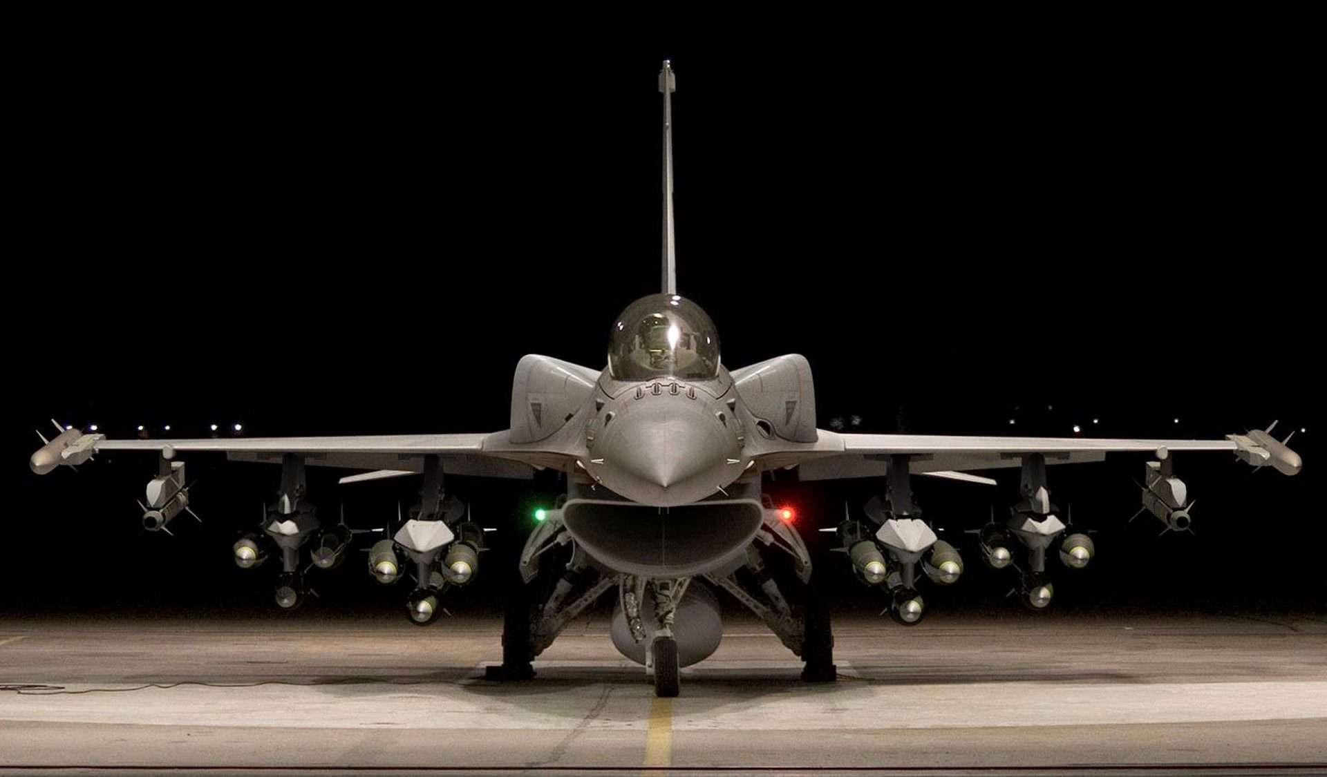 Винищувач F-16V. Фото з відкритих джерел