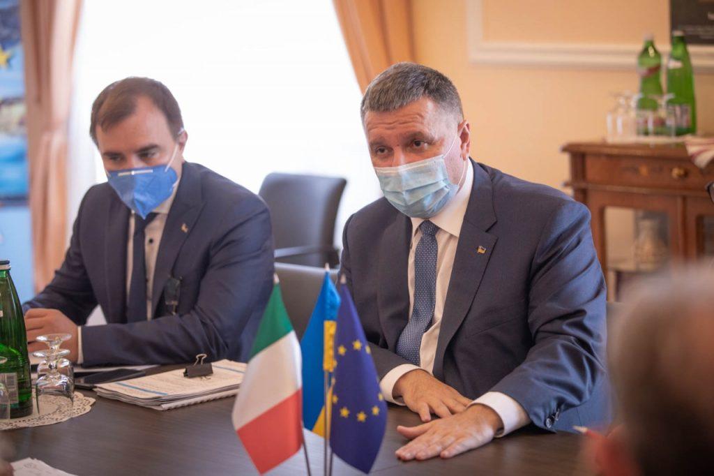 Перемовини у Римі. Серпень 2020. Фото: Аваков Арсен