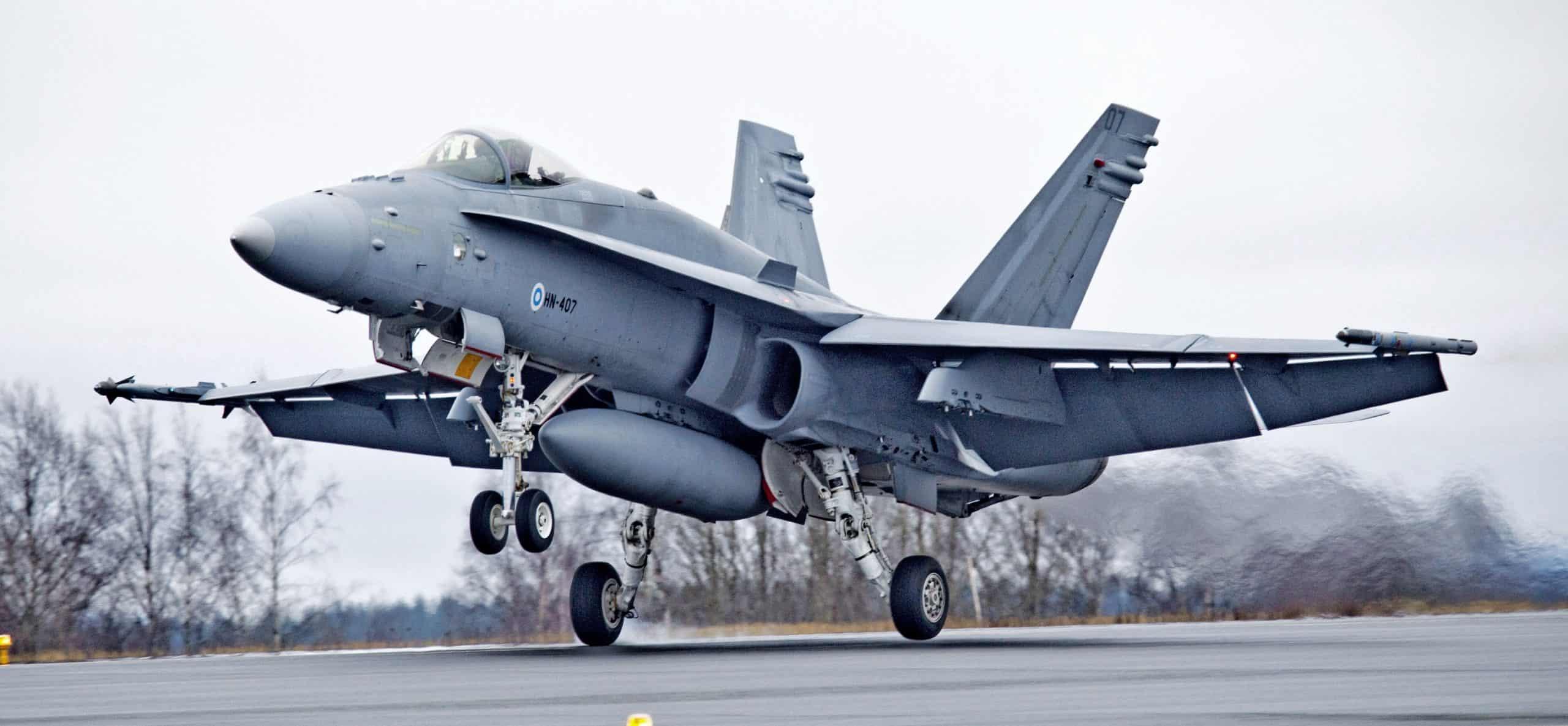 Фінський винищувач F/A-18