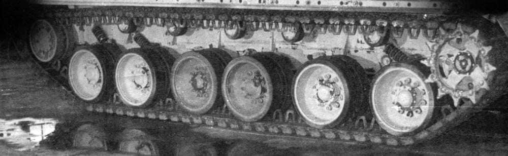 Гусеничне шасі танку