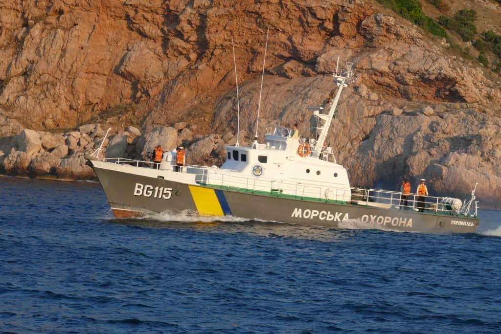 Катер «Тернопіль» (BG-115) Морської охорони ДПСУ