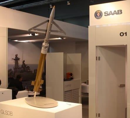 Макет GLSDB (Ground Lanched Small Diameter Bomb)